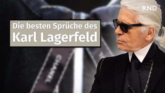 Die besten Sprüche des Karl Lagerfeld